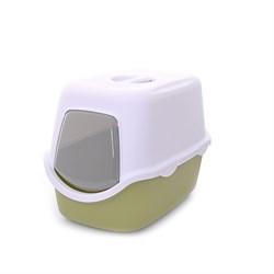 Stefanplast - Туалет закрытый Cathy, зеленый, 56*40*40см - фото 10280