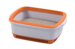 Canada Litter - Кошачий туалет с системой защиты от запаха CatEco (оранжевый) - фото 10302