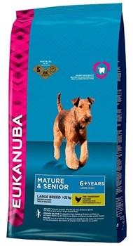 Eukanuba - Сухой корм для зрелых и пожилых собак крупных пород (курица) Dog Mature & Senior Large Breed - фото 10308