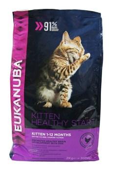 Eukanuba - Сухой корм для котят (с курицей и печенью) Cat Kitten Chicken & Liver - фото 10310