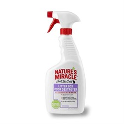 8in1 - Средство для устранения запаха в кошачьем туалете (спрей) NM Litter Box Odor Destroyer - фото 10348