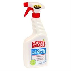 8in1 - Уничтожитель запахов с ароматом свежего белья (спрей) NM 3in1 Odor Destroyer - фото 10355