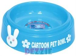 """Dezzie - Миска для кошек """"Друзья"""", 225 мл, 15 см, пластик (цвет в ассортименте) - фото 10400"""