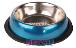 """Dezzie - Миска для кошек """"Штиль"""", 225 мл, металл - фото 10404"""