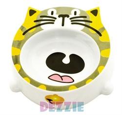 Dezzie - Миска для кошек, 200 мл, 16*16*4,5 см, пластик - фото 10416