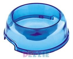 Dezzie - Миска для кошек, прозрачная, 300 мл, 15 см, пластик (цвет в ассотрименте) - фото 10421
