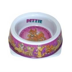 "Dezzie - Миска для собак ""Азарт"", 150 мл, 12,5*4,5 см, пластик - фото 10422"