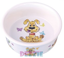 "Dezzie - Миска для собак ""Желание"", 300 мл,12,5*4,5 см керамика - фото 10423"