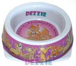 Dezzie - Миска для собак, 500 мл, 17,5*5,5 см, пластик - фото 10435
