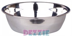 Dezzie - Миска для собак, металл 350 мл 14,2*4 см - фото 10437