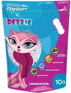 """Dezzie - Наполнитель для кошачьих туалетов силикагель """"Стандарт"""" (без запаха) 10 л - фото 10446"""