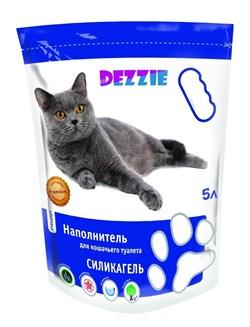 """Dezzie - Наполнитель для кошачьих туалетов силикагель """"Стандарт"""" (без запаха) 5л - фото 10447"""