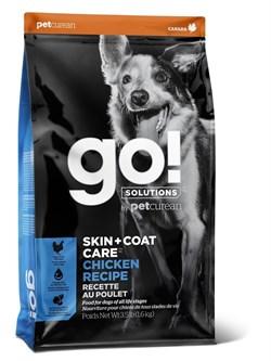 GO! Natural Holistic - Для щенков и собак (с цельной курицей, фруктами и овощами) SKIN + COAT Chicken Recipe DF - фото 10459