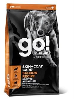 GO! Natural Holistic - Для щенков и собак (со свежим лососем и овсянкой) SKIN + COAT Salmon Recipe DF - фото 10460