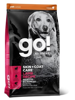 GO! Natural Holistic - Для щенков и собак (со свежим Ягненком) SKIN + COAT Lamb Meal Recipe DF - фото 10461