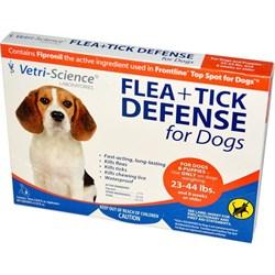 Vetri-Science защита от блох и клещей для собак от 10 кг до 20 кг, 1 аппликатор на 1,33 мл - фото 10498