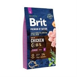 Brit - Сухой корм для молодых собак мелких пород Premium Junior S - фото 10528