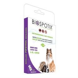 Biospotix - Капли от блох для собак крупных и гигантских пород весом от 20 до 50 кг (3 пипетки по 3 мл) XL Dog Spot on - фото 10589