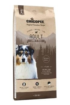 Chicopee - Сухой корм для взрослых собак всех пород (ягненок с рисом) CNL Adult Lamb & Rice - фото 10636