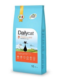 Dailycat - Сухой корм для взрослых стерилизованных кошек (с индейкой и рисом) Adult Steri Lite Turkey and Rice - фото 10705