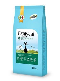 Dailycat - Сухой корм для взрослых стерилизованных кошек (с курицей и рисом) Adult Steri lite Chicken and Rice - фото 10711