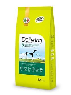 Dailydog - Сухой корм для взрослых собак средних пород (с курицей и рисом) Adult Medium Breed Chicken and Rice - фото 10779