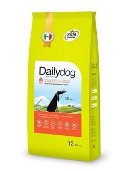Dailydog - Сухой корм для пожилых собак средних и крупных пород (с индейкой и рисом) Senior Medium Large Breed Turkey and Rice - фото 10786