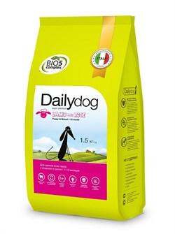 Dailydog - Сухой корм для щенков всех пород (с ягненком и рисом) Puppy All Breed Lamb and Rice - фото 10792
