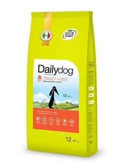 Dailydog - Сухой корм для щенков крупных пород (с индейкой и рисом) Puppy Large Breed Turkey and Rice - фото 10794