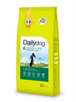 Dailydog - Сухой корм для щенков средних пород (с курицей и рисом) Puppy Medium Breed Chicken and Rice - фото 10804