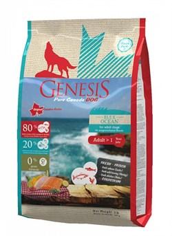 Genesis Pure Canada - Сухой корм для взрослых собак всех пород (с лососем, сельдью и курицей) Blue Ocean - фото 10818
