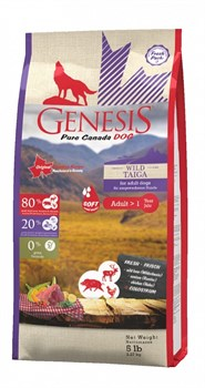 Genesis Pure Canada - Сухой корм для пожилых собак всех пород (с мясом гуся, фазана, утки и курицы) Wide Country - фото 10825