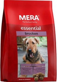 Mera - Сухой полнорационный корм для взрослых собак с нормальным уровнем активности (с птицей) essential Brocken - фото 10911
