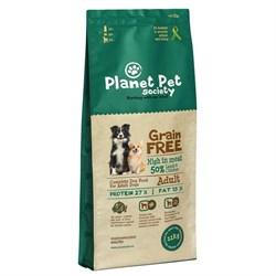 Planet Pet - Сухой корм беззерновой для взрослых собак всех пород (с ягненком и картофелем) Grain Free Lamb & Potato For Adult Dogs - фото 10969