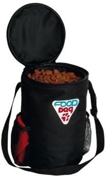 "Trixie - Контейнер сумка с миской для корма ""Дорожный набор"" (нейлон) Food Bag Travel Set - фото 11133"