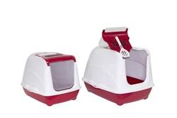 Moderna - Туалет-домик  Jumbo с угольным фильтром, 57х44х41см, терракотовый - фото 11319
