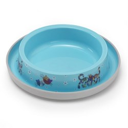 Moderna - Нескользящая миска с защитой от муравьев Trendy - Друзья навсегда, голубая, 210 мл - фото 11383