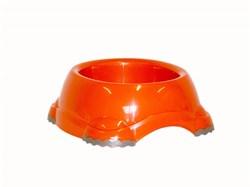 Moderna - Миска нескользящая Smarty, 2200 мл, оранжевая - фото 11428