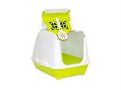 Moderna - Туалет-домик Flip с угольным фильтром, 50х39х37см, салатовый - фото 11436