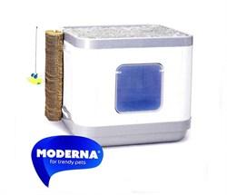 Moderna - Cat Concept 4 в 1 (туалет, лежанка, дразнилка, когтеточка) - фото 11455