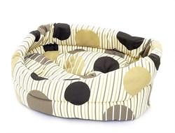 Benelux - Лежак для собак с подушкой 60*56*15 см Dogbasket size 5 - фото 11532