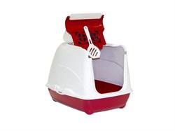 Moderna - Туалет-домик Flip с угольным фильтром, 50х39х37см, розовый - фото 11927