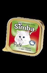 Simba Cat - Консервы для кошек (паштет из мяса) - фото 13046