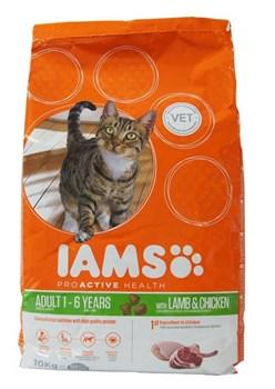 Iams - Сухой корм для взрослых кошек (с ягненком) ProActive Health Adult with Lamb - фото 13128