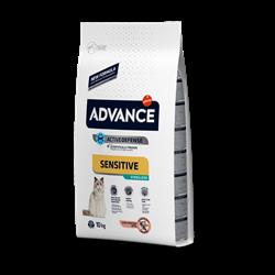 Advance - Сухой корм для стерилизованных кошек (с лососем) Sterilized Sensitive Salmon - фото 13274
