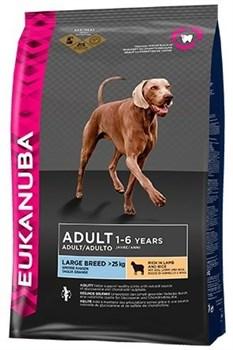Eukanuba - Сухой корм для взрослых собак крупных пород (с ягненком и рисом) Dog Adult Large Breed Rich in Lamb & Rice - фото 13497