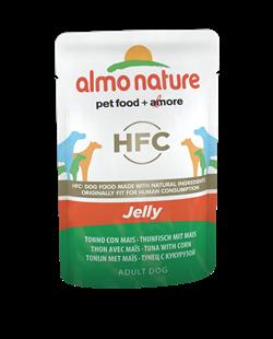 "Almo Nature - Паучи для собак ""Тунец и Сладкая кукуруза в желе"" Classic Jelly Tuna and Sweet Corn - фото 13523"