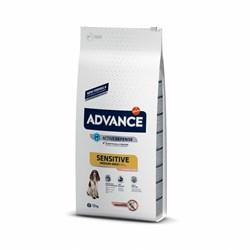 Advance - Сухой корм для собак с чувствительным пищеварением (c лососем и рисом) Sensitive - фото 13688
