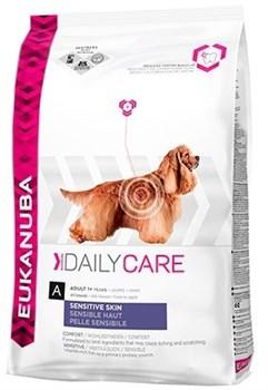 Eukanuba - Сухой корм для собак с чувствительной кожей (рыба) Daily Care Adult Dog Sensitive Skin - фото 13718