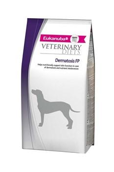 Eukanuba - Сухой корм ветеринарная диета для собак при воспалительных заболеваниях кожи (рыба) Veterinary Diets Dog Dermatosis FP - фото 13871